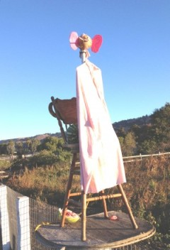 Anti-Obama display on Foothill Avenue